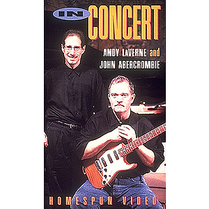 Andy LaVerne and John Abercrombie in Concert (VHS)