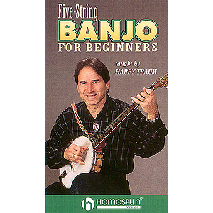 Five-String Banjo for Beginners (VHS)