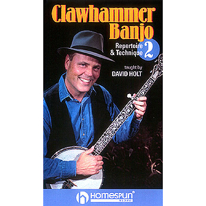 Clawhammer Banjo - Video Two (VHS)