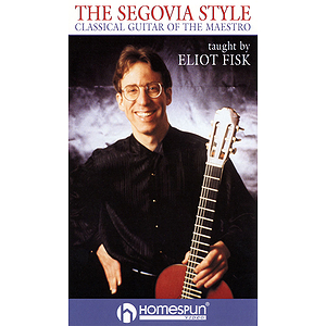 The Segovia Style (VHS)
