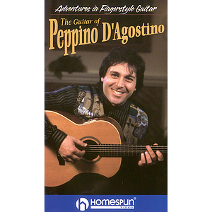 Adventures in Fingerstyle Guitar - Peppino D'Agostino (VHS)
