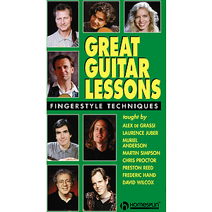 Great Guitar Lessons - Fingerstyle Techniques (VHS)