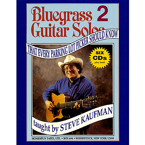 Bluegrass Guitar Solos Every Parking Lot Picker Should Know