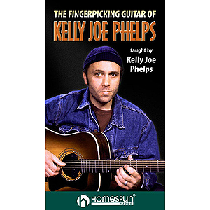 The Fingerpicking Guitar of Kelly Joe Phelps (VHS)