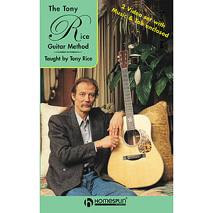 The Tony Rice Guitar Method (VHS)