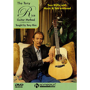 The Tony Rice Guitar Method (DVD)