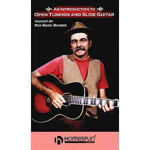 An Introduction to Open Tunings and Slide Guitar (VHS)
