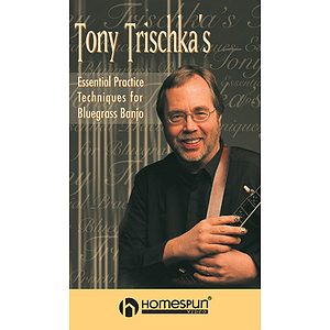 Tony Trischka&#039;s Essential Practice Techniques for Bluegrass Banjo (VHS)