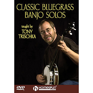 Classic Bluegrass Banjo Solos (DVD)