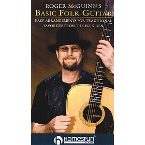 Roger McGuinn&#039;s Basic Folk Guitar (VHS)