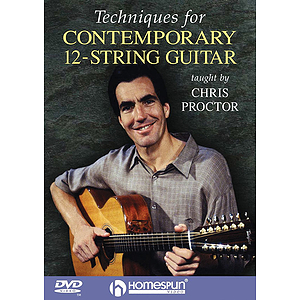 Techniques for Contemporary 12-String Guitar (DVD)
