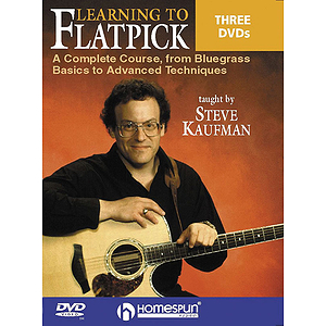 Learning to Flatpick (DVD)