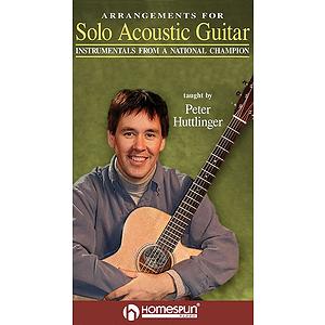 Arrangements for Solo Acoustic Guitar (VHS)