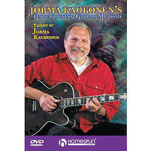 Jorma Kaukonen's Fingerpicking Guitar Method - 2-DVD Set