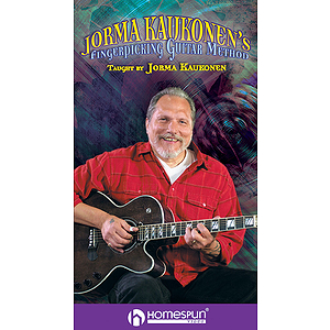 Jorma Kaukonen's Fingerpicking Guitar Method - 2-Video Set (VHS)