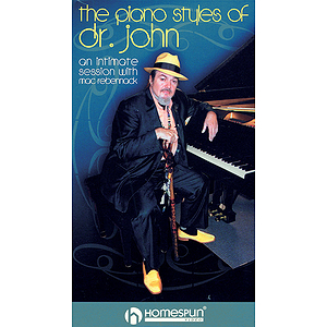The Piano Styles of Dr. John - 2-Video Set (VHS)