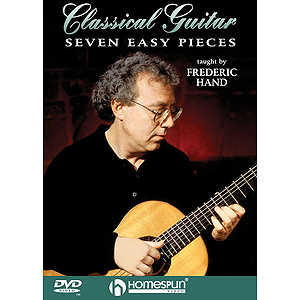 Seven Easy Pieces for Classical Guitar (DVD)