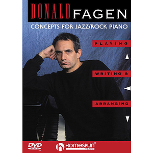 Donald Fagen - Concepts for Jazz/Rock Piano (DVD)