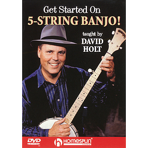Get Started on 5-String Banjo! (DVD)