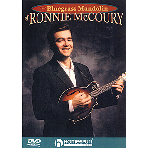 The Bluegrass Mandolin of Ronnie McCoury (DVD)