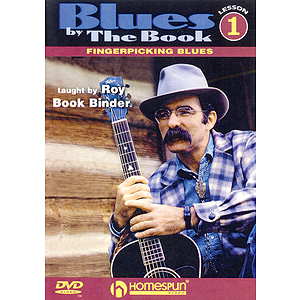 Blues by the Book for Fingerstyle Guitar (DVD)