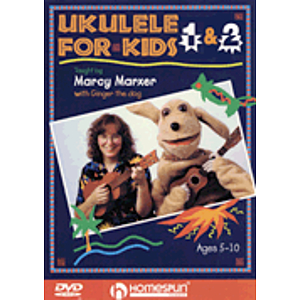 Ukulele for Kids - 2-DVD Set