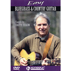 Easy Bluegrass and Country Guitar (DVD)