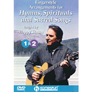 Fingerstyle Arrangements for Hymns, Spirituals and Sacred Songs (DVD)