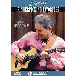 Easy Fingerpicking Favorites (DVD)
