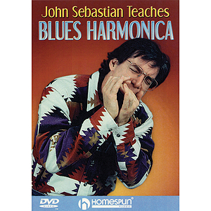 John Sebastian Teaches Blues Harmonica (DVD)