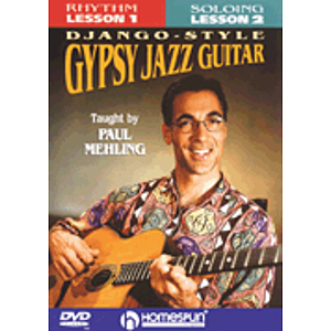 Learn to Play Django-Style Gypsy Jazz Guitar (DVD)