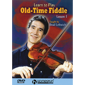 Learn to Play Old-Time Fiddle (DVD)