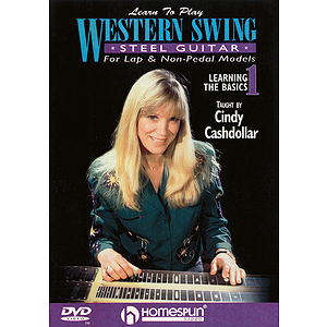 Learn to Play Western Swing Steel Guitar (DVD)