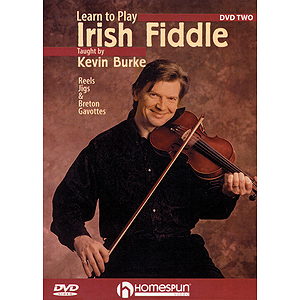 Learn to Play Irish Fiddle, Lesson Two (DVD)