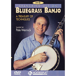 Branching out on Bluegrass Banjo 1 (DVD)
