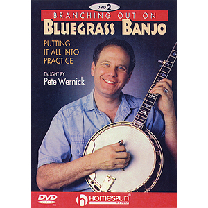 Branching Out on Bluegrass Banjo 2 (DVD)