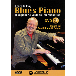 Learn to Play Blues Piano - A Beginner's Guide to Improvisation (DVD)