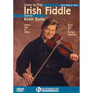 Learn to Play Irish Fiddle - 2-DVD Set