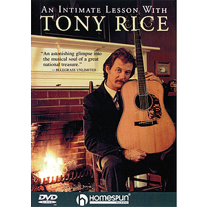 An Intimate Lesson with Tony Rice (DVD)