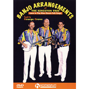 Banjo Arrangements of The Kingston Trio (DVD)