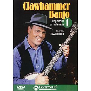 Clawhammer Banjo 1 (DVD)