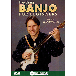 Five-String Banjo for Beginners (DVD)