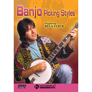 Béla Fleck Teaches Banjo Picking Styles (DVD)