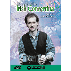 Learn to Play Irish Concertina (DVD)