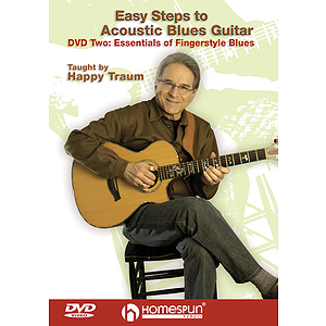 Easy Steps to Acoustic Blues Guitar (DVD)