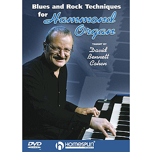 Blues and Rock Techniques for Hammond Organ (DVD)