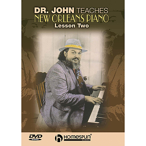 Dr. John Teaches New Orleans Piano (DVD)