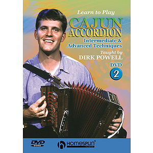 Learn to Play Cajun Accordion (DVD)