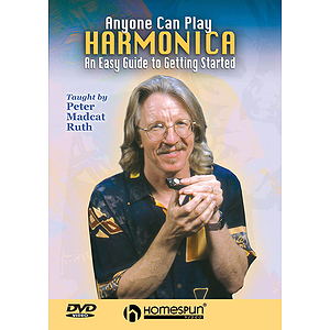 Anyone Can Play Harmonica (DVD)