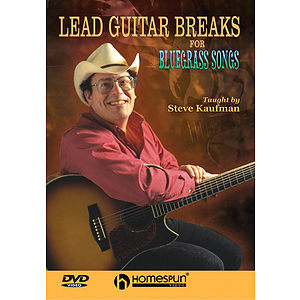 Lead Guitar Breaks for Bluegrass Songs (DVD)